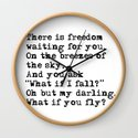 What if you fly? Vintage typewritten by quoteme