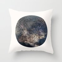 gravity Throw Pillows featuring Gravity by Louise Donovan