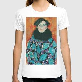 """Gustav Klimt """"Johanna Perennial"""" T-shirt"""