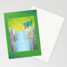 Dino Falls Stationery Cards