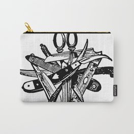 Blades & Scissors Carry-All Pouch