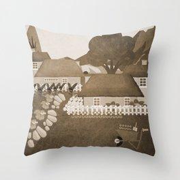 Norway 8 Throw Pillow