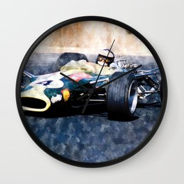 Jim Clark, Lotus Wall Clock