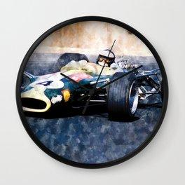 Jim Clark, Lotus Wall Clock