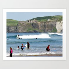 Surfs Up! 2 Art Print