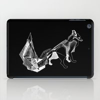 literature iPad Cases featuring literature fox 1 by vasodelirium