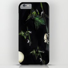 Three Witches on Brooms with the Moon.  Slim Case iPhone 6 Plus