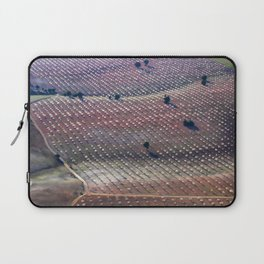 Almonds From The Air. North Of Granada Laptop Sleeve