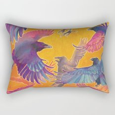 Make Way for the Raven King Rectangular Pillow