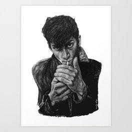 ARCTIC ALEX Art Print