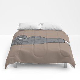 zombie trick Comforters