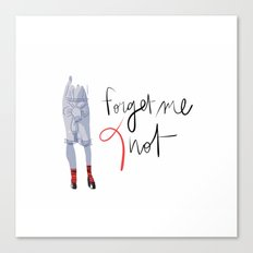 Forget me (K)not Canvas Print