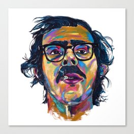 Chuck Close Canvas Print