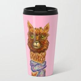 LlamaCat Travel Mug