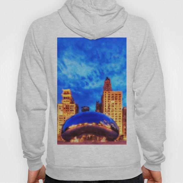 Chicago Panorama Hoody