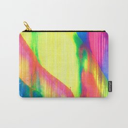Glowing Neon Abstract Painting V2 Carry-All Pouch