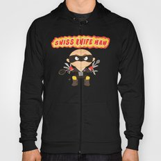 Swiss Knife Man Hoody