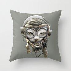 PILOTCAT Throw Pillow