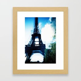 Just Awaking (Paris, Tour de Eiffel) Framed Art Print