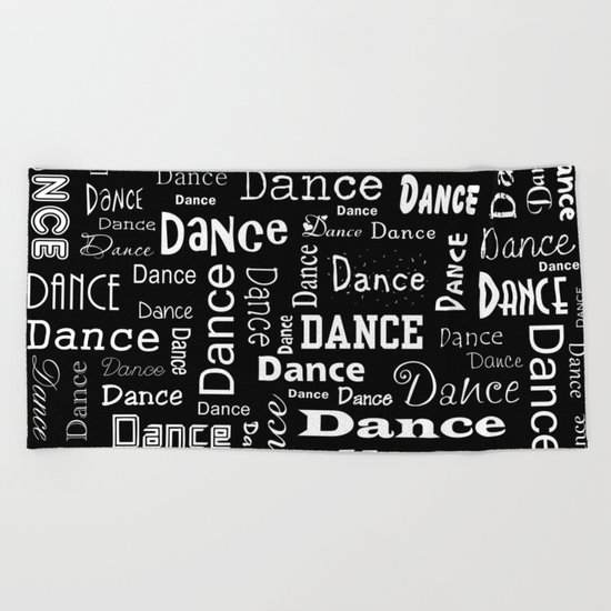 Just Dance! Beach Towel