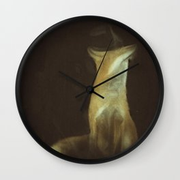 Out Foxed Wall Clock