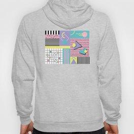 Memphis Pattern 27 - 80s - 90s Retro / 1st year anniversary design Hoody