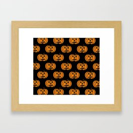 Jack O Lanterns Framed Art Print