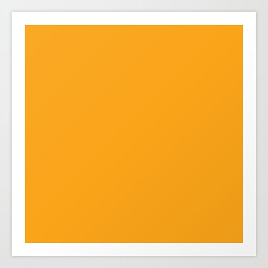 Orange Solid Color by skylinesquirrel