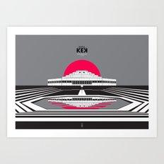 Rapla KEK Art Print