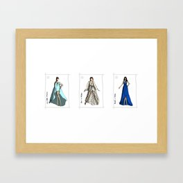 Goddesses in Odylyne, Spring 13  Framed Art Print