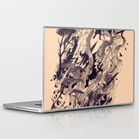 chaos Laptop & iPad Skins featuring Chaos by nicebleed