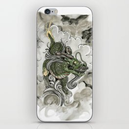 Dragon of The Mist iPhone Skin