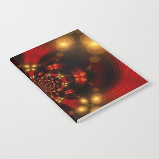 Christmas-Fractal Notebook