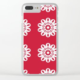 Flowes Clear iPhone Case