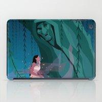 pocahontas iPad Cases featuring Pocahontas Spirit by LydiaSchüttengruber