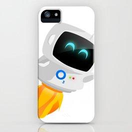 O3 Luna Robot iPhone Case