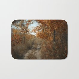 Autumn Trail Bath Mat