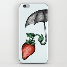 Strawbrella iPhone & iPod Skin