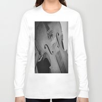 violin Long Sleeve T-shirts featuring Violin by KimberosePhotography