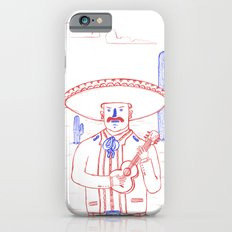 Mariachi in the Desert iPhone 6s Slim Case