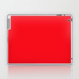 Bright Italian Racing Car Red Color Laptop & iPad Skin