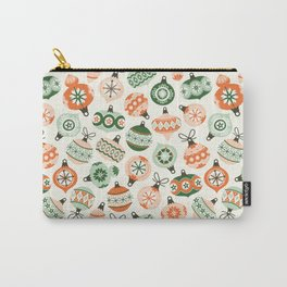 Vintage Ornaments Carry-All Pouch