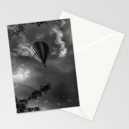 To the clouds Stationery Cards