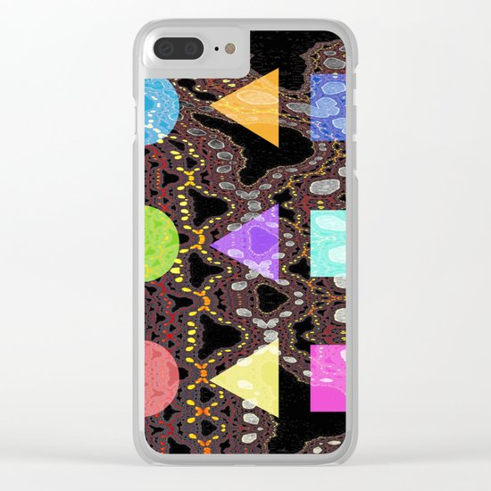 land of bridges forms Clear iPhone Case