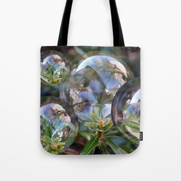 Flower bubbles Tote Bag