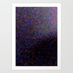 Sun reflecting in ocean wave Art Print