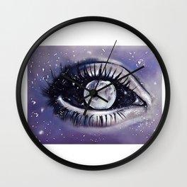 moony eye Wall Clock