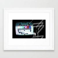 budapest Framed Art Prints featuring Budapest by Christoph Heldt