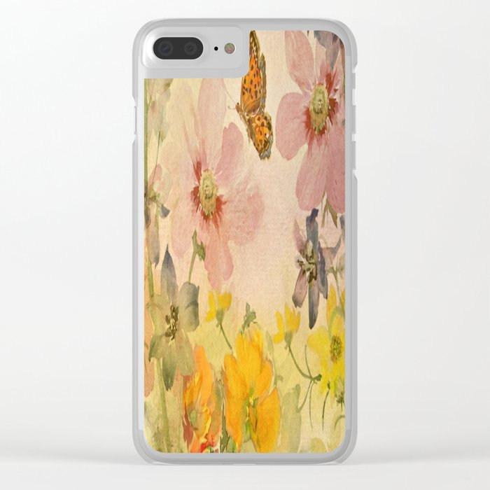 A Little Bit Of Spring Clear iPhone Case