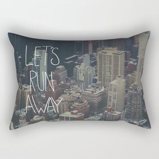 Let's Run Away to NYC Rectangular Pillow